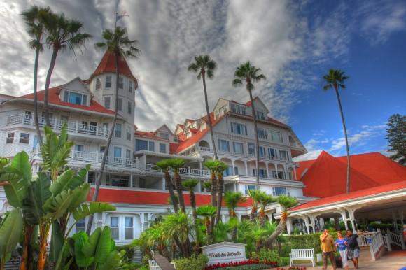 The Hotel del Coronado in Coronado, Calif., in 2012. (Thomas Hart/CC-BY NC)