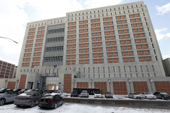 The Metropolitan Detention Center (MDC) in the Brooklyn borough of New York on Jan. 8, 2017. (AP Photo/Kathy Willens)