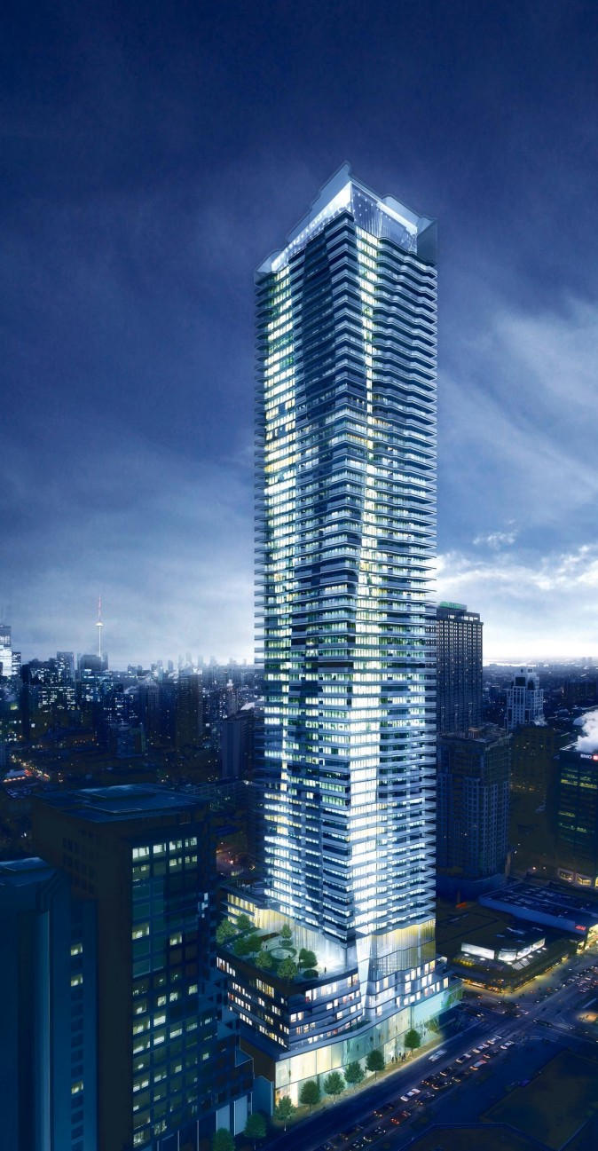 Number One Bloor Condo Development (Courtesy Great Gulf Homes)