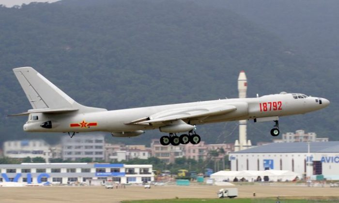 A Xian H-6 bomber (Wikimedia Commons)