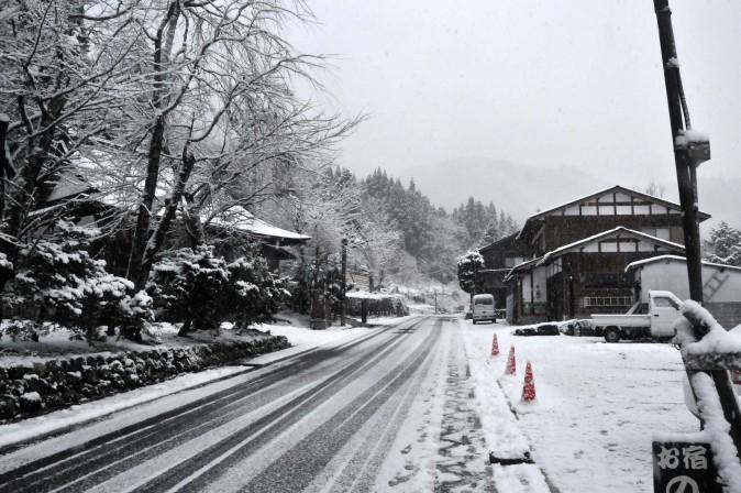 Figure 10 Snow scene in Shirakawa-go. (Sun Mingguo/Epoch Times)