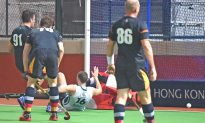 HKFC Battle to Win Against Cricketers, in Hong Kong Hockey