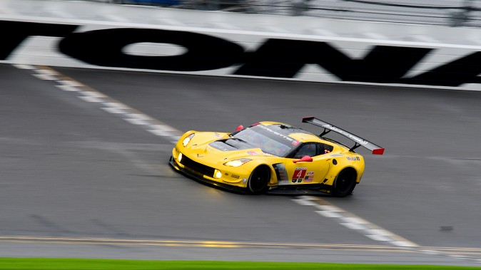 The #4 Corvette Racing C7.R was fifth quickest in class. (Bill Kent/Epoch Times)