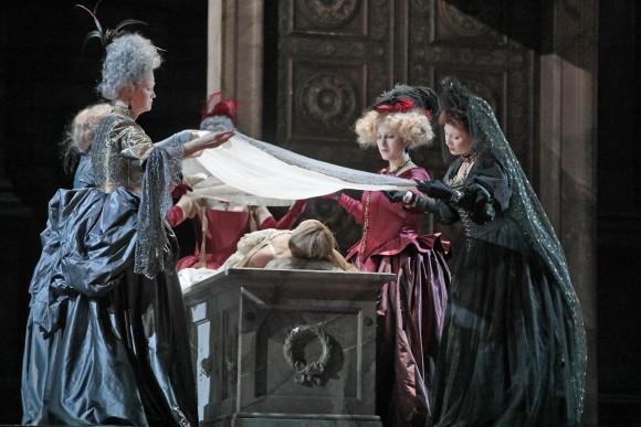 Director Bartlett Sher moved the Renaissance era opera to 18th-century Verona. (Ken Howard/Metropolitan)