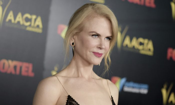 Nicole Kidman at the 6th Annual AACTA International Awards held at Avalon Hollywood in Los Angeles on Jan. 6, 2017. (Richard Shotwell/Invision/AP )
