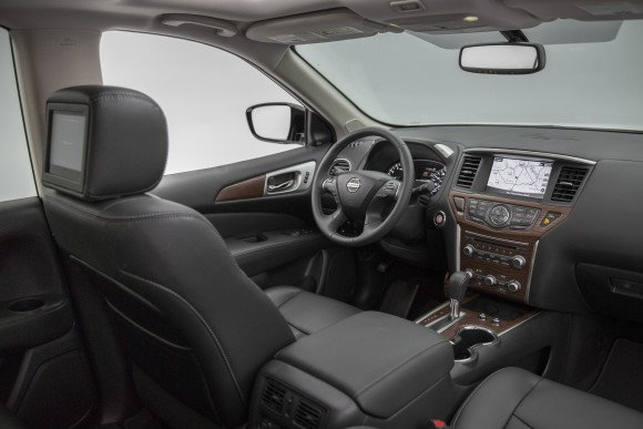 The interior of the Pathfinder. (Courtesy of Nissan Newsroom)