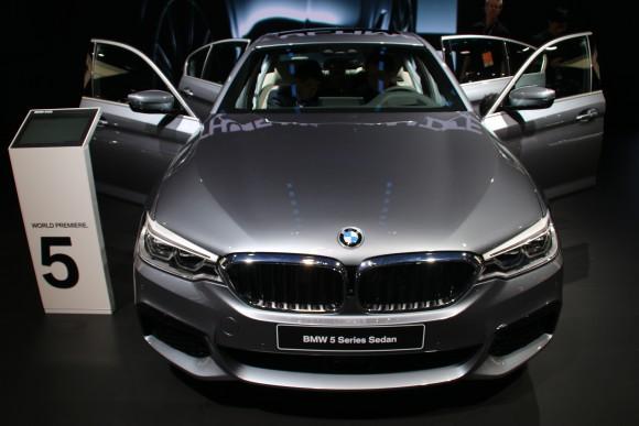 2018 BMW 5-Series (David Taylor)
