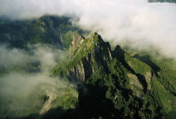 Located upriver from Thames in the stunning Kaueranga Valley, the Pinnacles Track climbs through ruggedly beautiful mountain ranges. It's one of NewZealand's most popular overnightwalks. (The Coromandel)