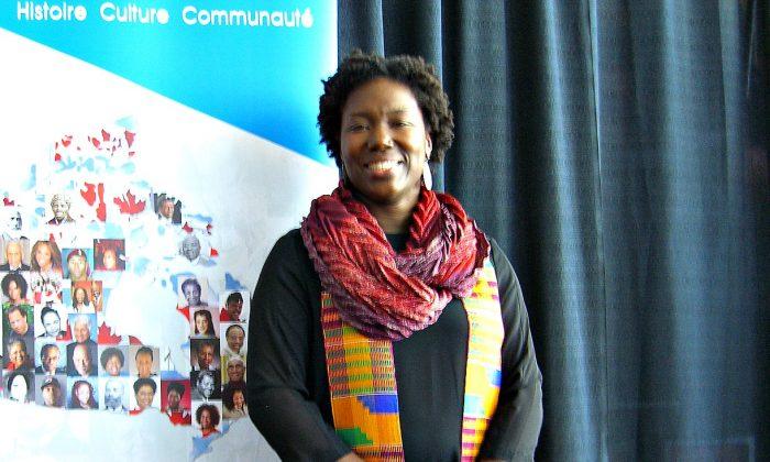 Dr. Kalenda Eaton of Arcadia University, Pennsylvania, the keynote speaker at the City of Ottawa's Martin Luther King Day celebration on Jan. 16, 2017. (Susan Korah)