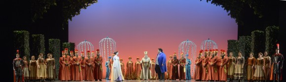 A scene from the Canadian Opera Company's production of The Magic Flute, 2017. (Chris Hutcheson)