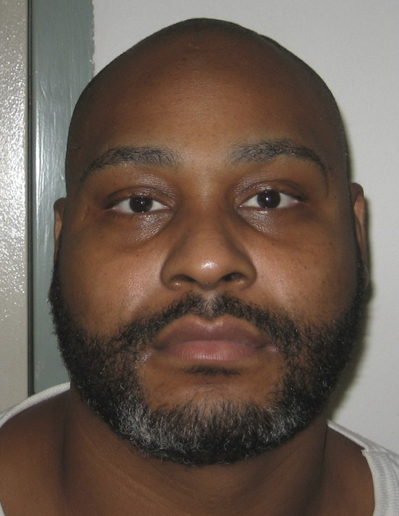 This undated photo provided by the Virginia Department of Corrections shows convicted murderer Ricky Gray who is scheduled to be executed at the Greensville Correctional Center in Jarratt, Va., on Jan. 18, 2017. (Virginia Department of Corrections via AP)