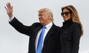 Cheers and Ceremony: Trump Sweeps in for His Big Day