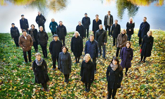 Estonian Philharmonic Chamber Choir. (Kaupo Kikkas)