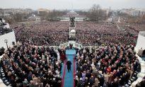 Photo Comparison of Trump's, Obama's Inaugurations