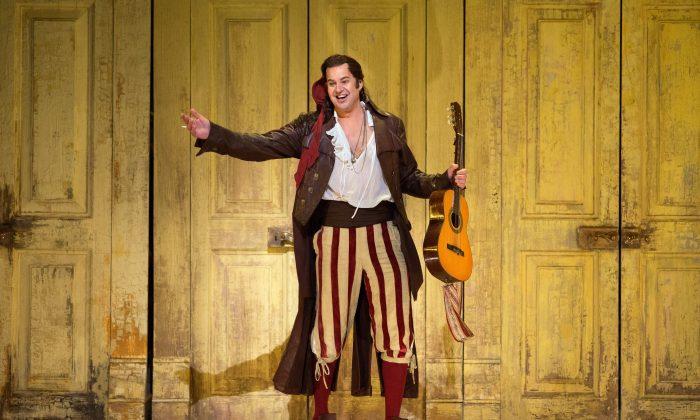 """Pretty Yende as Rosina in  """"Il Barbiere di Siviglia."""" (Marty Sohl/Metropolitan Opera)"""