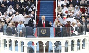 Trump Promises to Put American People First in Inaugural Address