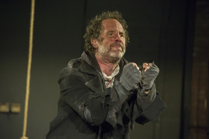 Benjamin Evett stars as the Ancient Mariner in the one-man show,