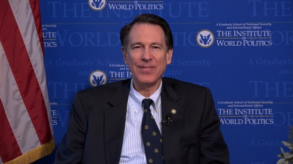 John Lenczowski, the former Director of European and Soviet Affairs at the National Security and current president of a Washington D.C.-based graduate school. (New Tang Dynasty Television)