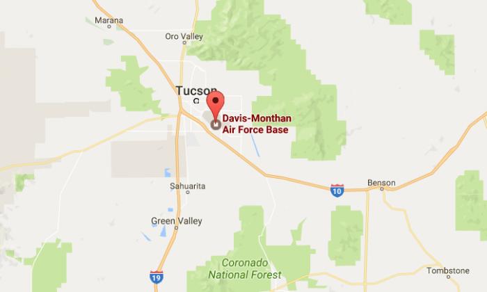 Davis-Monthan Air Force Base (Google)