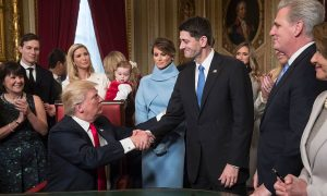 Ryan Applauds Trump Move to Pull out of TPP