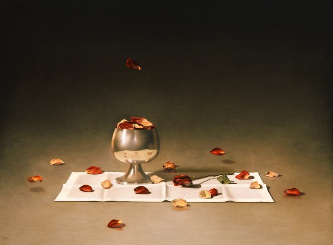 """Petals,"" by Carlos Madrid. Oil on linen, 36 inches by 24 inches. (Courtesy of Carlos Madrid)"