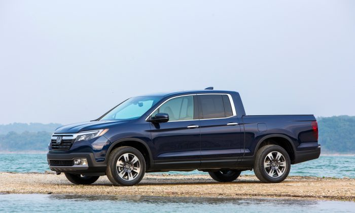 2017 Honda Ridgeline. (Courtesy of Honda)