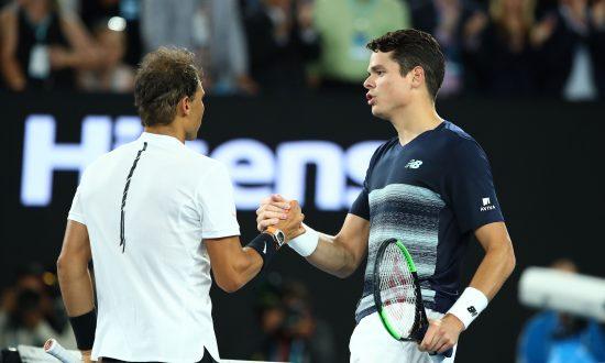 Raonic's Promising Australian Open Ended by Resurgent Nadal