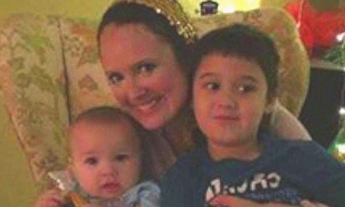 Monica Lamping and children (Virginia Beach Police Department)