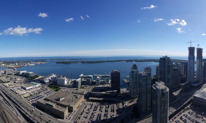 View of Toronto (Courtesy Scott Davie)