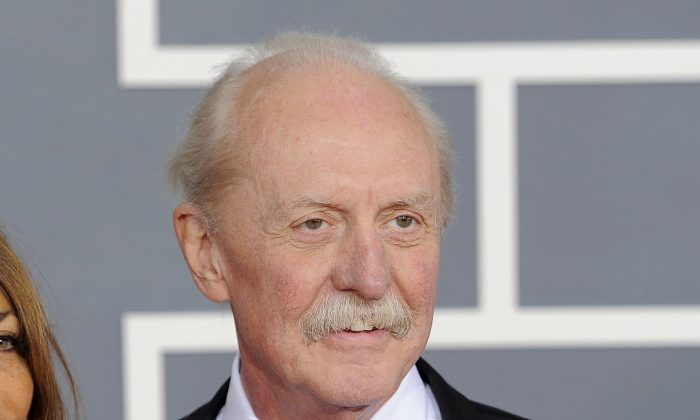In this file photo, Butch Trucks at the 54th annual Grammy Awards in Los Angeles. (AP Photo/Chris Pizzello)