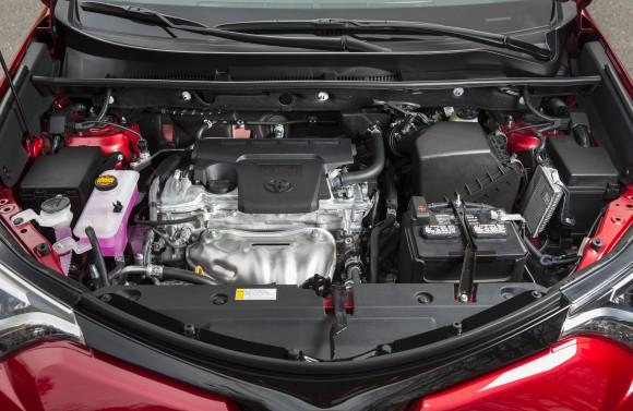 Toyota RAV4 Hood up (Courtesy of David Taylor)