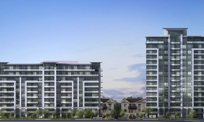 Rendering of Valleymede Towers (Courtesy Times Group)