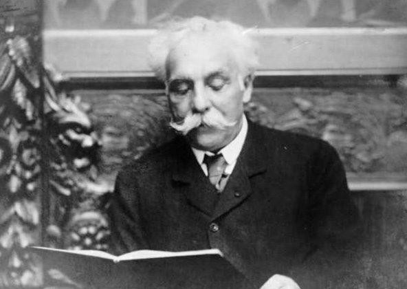 Gabriel Fauré in 1907. (Lausanne De Jongh)