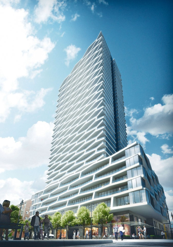 Rendering Harbour Plaza Residences. (Courtesy Cornerstone Marketing Realty)