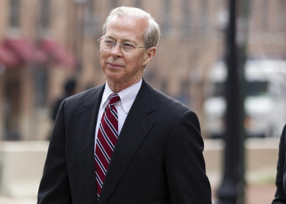 Dana Boente, then-First Assistant U.S. Attorney for the Eastern District of Virginia leaves federal court in Alexandria, Va., on Jan. 26, 2012. President Donald Trump has fired Acting Attorney General Sally Yates after she announced she would not defend his controversial immigration order. And he's naming Boente, U.S. Attorney for the Eastern District of Virginia, to serve in her place. (AP Photo/Evan Vucci, File)