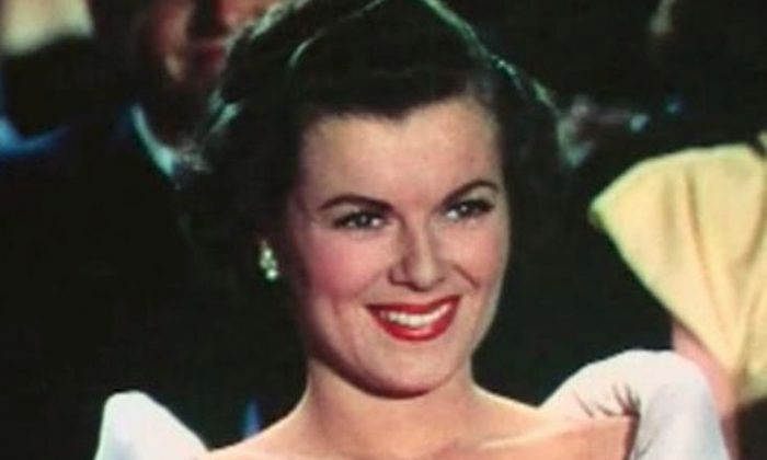 Barbara Hale in Jolson Sings Again, 1949 (Public Domain)