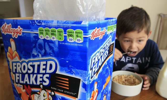 The Heart and Stroke Foundation is calling for the elimination of marketing of all food and beverage products to children and youth under age 17, saying that high-volume promotional tactics are setting up young people for obesity and lifelong health problems. (AP Photo/Paul Sakuma)