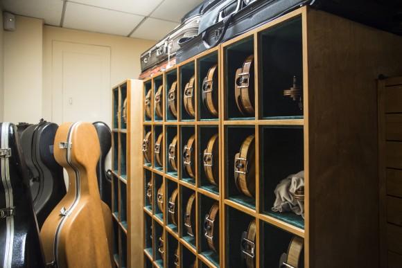 Instruments at Rare Violins of New York in Manhattan, New York, on Jan. 9, 2017. (Samira Bouaou/Epoch Times)