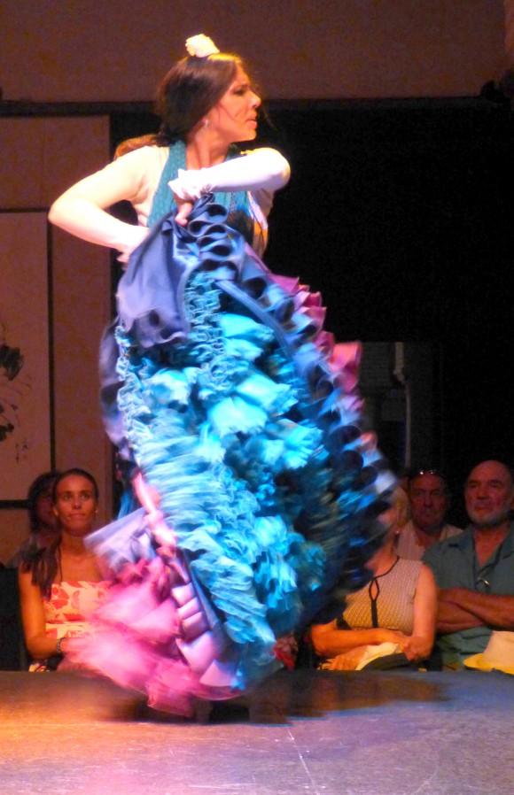 Flamenco dancer. (Manos Angelakis)
