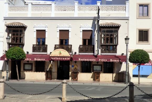 The Pedro Romero restaurant in Ronda. (Manos Angelakis)
