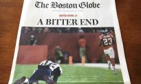 Some Boston Globe Editions Suggest Patriots Lost Super Bowl