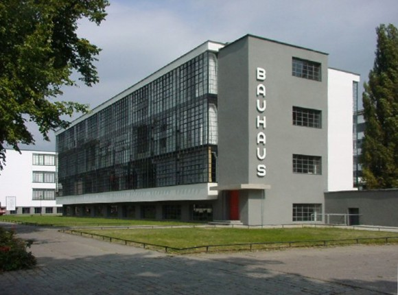 The Bauhaus Building in Dessau, Germany. (Public Domain)