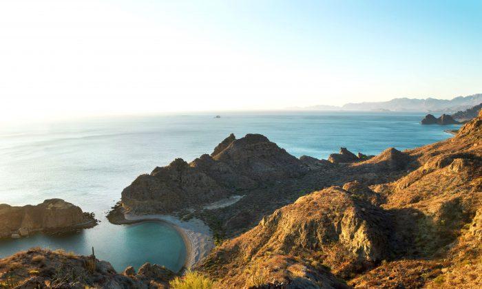 View of the Sea of Cortez from near Loreto. (Villa del Palmar Beach Resorts & Spa)