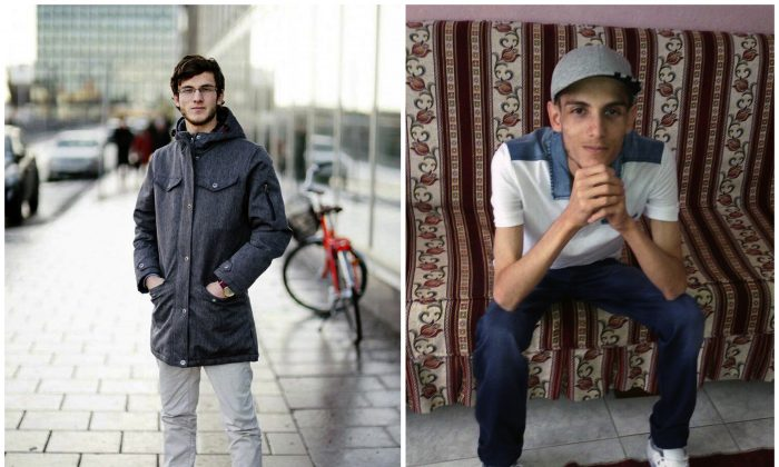 "COMBO - In this combination of two photos of Omar Alshogre, a 21-year Syrian former detainee, now living in Stockholm, Sweden. The left picture is of Alshogre taken on January 2017 in Stockholm, Sweden. The right picture is of Alshogre in July 2015 in Antakya, Turkey, a month after he got out of Syria's Saydnaya prison, near Damascus. While in detention, Alshogre said he heard men escorted to be hanged and had himself been called for ""execution"" but was spared after a brief trial. Amnesty published a new report on Tuesday revealing that as many as 13,000 men were hanged in secret in a Syrian prison between 2011 and 2015, as part of a government campaign of extrajudicial executions. The group says for five years, once or twice weekly, groups of up to 50 people were taken out of their prison cells and hanged to death. (Handout by Omar Alshogre via AP)"