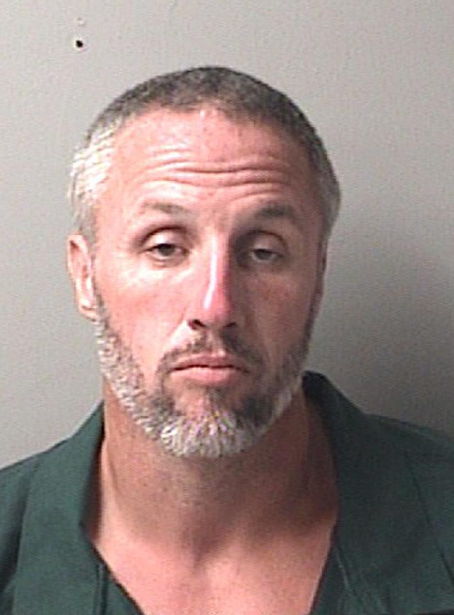 "William ""Billy"" Boyette, under arrest in June 2015. (Escambia County Sheriff's Office via AP)"