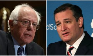 Cruz Pulls out a Map During Obamacare Debate With Sanders
