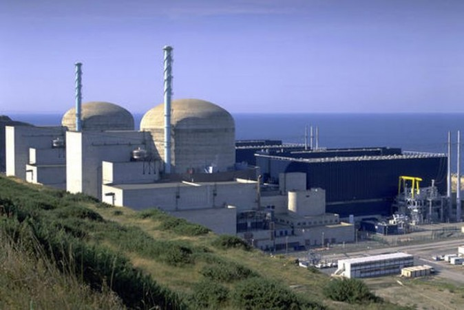 This undated photo provided by Electricite de France (EDF), France's state-run utility company, shows the current nuclear plant of Flamanville, Normandy, France. French authorities say there has been an explosion in a nuclear power plant's machine room early on Thursday, Feb. 9, 2017, but that there is no leak of radiation. No injuries have been reported. (Pierre Berenger/EDF via AP)