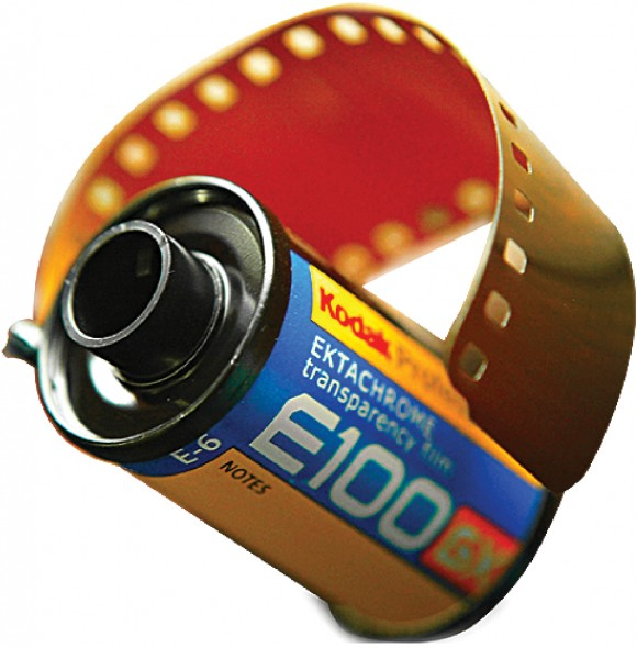 A roll of Kodak film from 2004. In the photographic film market, Kodak used to have a market share of over 80 percent in the United States and about 50 percent globally. The company ultimately filed for Chapter 11 bankruptcy protection in 2012. (Chris Furlong/Getty Images)