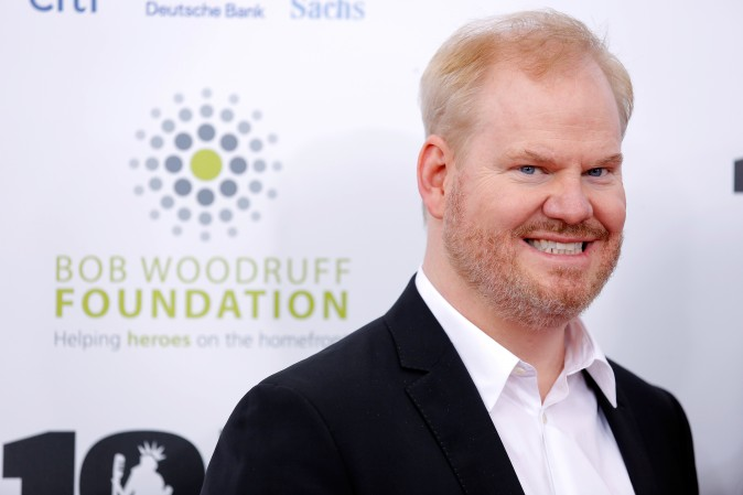Comedian Jim Gaffigan at Madison Square Garden in New York City in 2013.  (Jemal Countess/Getty Images)