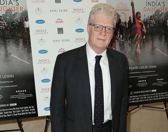 Sir Ken Robinson in Beverly Hills, Calif. in 2016.  (Joe Scarnici/Getty Images)